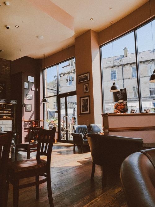 Eine Café-Ecke einrichten